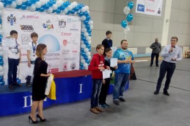 Победа на Кубке Лиги роботов